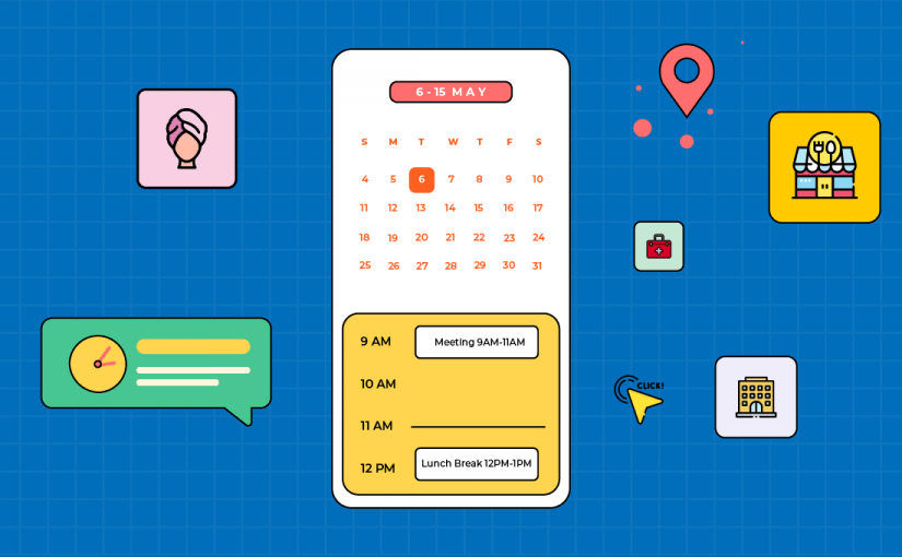 How to integrate in-app calendar feature in no-code mobile apps?